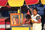 Woman Selling Food