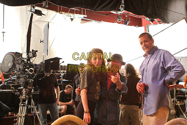 TANNA FREDERICK, HENRY JAGLOM (DIRECTOR), JUDD NELSON.on the set of Just 45 Minutes from Broadway (2012) .*Filmstill - Editorial Use Only*.CAP/FB.Supplied by Capital Pictures.