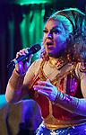 Varla Jean Merman performing her show 'Wonder Merman' on May 4, 2018 at the Green Room 42 in New York City.