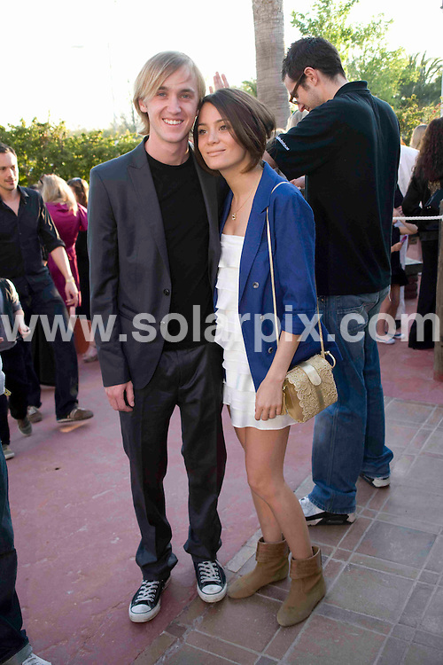**ALL ROUND PICTURES FROM SOLARPIX.COM**.**WORLDWIDE SYNDICATION RIGHTS**.British TV celebrities at the Pirates Charity Premier for GOSH, held in Magaluf, Mallorca, Spain. 2 May 2009..This pic: Tom Felton..JOB REF: 8936 WUN       DATE: 02_05_2009.**MUST CREDIT SOLARPIX.COM OR DOUBLE FEE WILL BE CHARGED**.**ONLINE USAGE FEE  GBP 50.00 PER PICTURE - NOTIFICATION OF USAGE TO PHOTO @ SOLARPIX.COM**.**CALL SOLARPIX : +34 952 811 768 or LOW RATE FROM UK 0844 617 7637**