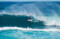 SUNSET BEACH, Oahu/Hawaii (Friday, December 5, 2014): Jordy Smith (ZAF) after his loss. The Vans World Cup of Surfing was  called ON this morning with competition begining with Round 4. <br /> A new NW 6 - 8 foot swell was on hand for the final which built through the day to 10 foot plus by the afternoon.<br /> Four island boys reached the final, three from the islands of Hawaii and one from the islands of tahiti. By the final hooter it was the Tahitian Michel Bourez (PYF) who emerged vitreous with Dusty Payne (HAW) 2nd, Sebastien Zietz (HAW) 3rd and Ian Walsh (HAW) 4th. Photo: joliphotos.com