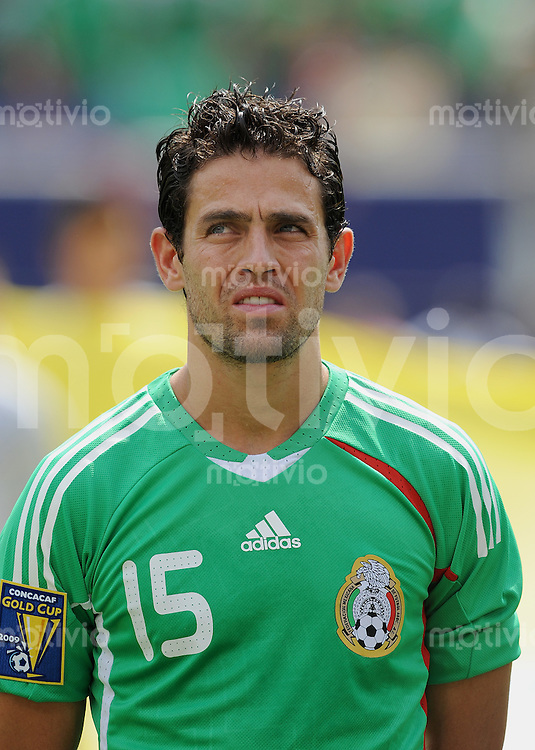 Fussball International Gold Cup Finale 2009    26.07.2009 USA - Mexiko Jose Antonio Castro (MEX)