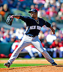 2 March 2009: New York Yankees' pitcher Wilkin De La Rosa on the mound during a Spring Training game against the Houston Astros at Osceola County Stadium in Kissimmee, Florida. The teams played to a 5-5, 9-inning tie. Mandatory Photo Credit: Ed Wolfstein Photo