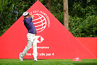 Ryan Fox (NZL) on the 9th tee  during the 1st round at the WGC HSBC Champions 2018, Sheshan Golf CLub, Shanghai, China. 25/10/2018.<br /> Picture Phil Inglis / Golffile.ie<br /> <br /> All photo usage must carry mandatory copyright credit (&copy; Golffile | Phil Inglis)