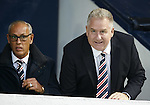 Mark Hateley and Rangers CEO Graham Wallace