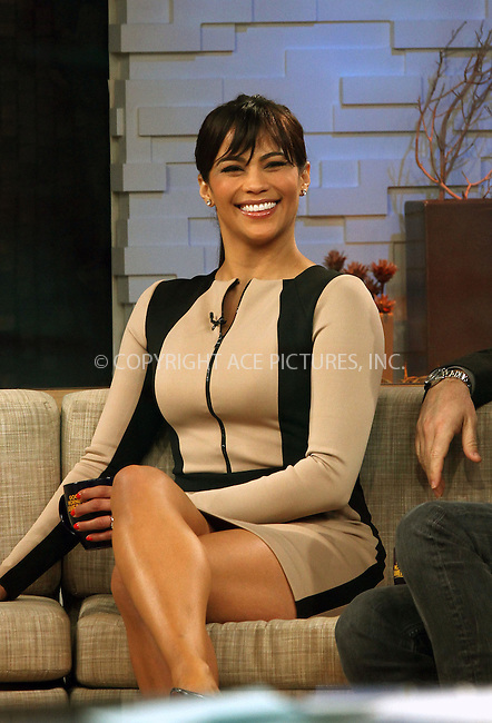 WWW.ACEPIXS.COM....April 9 2013, New York City....Actors Paula Patton and Jason Bateman made an appearance on 'Good Morning America' on April 9 2013 in New York City......By Line: Zelig Shaul/ACE Pictures......ACE Pictures, Inc...tel: 646 769 0430..Email: info@acepixs.com..www.acepixs.com
