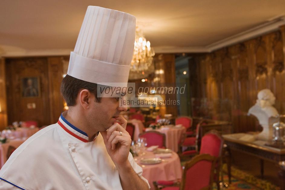 Europe/France/Provence-Alpes-Côte d'Azur/06/Alpes-Maritimes/Nice:  Hôtel: Le Négresco ôtel: Le Négresco- Restaurant: Le  Chantecler - Denis Rieubland  chef des Cuisines