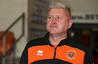 Blackpool's Manager Terry McPhillips <br /> <br /> Photographer Rachel Holborn/CameraSport<br /> <br /> The EFL Checkatrade Trophy Group C - Blackpool v Accrington Stanley - Tuesday 13th November 2018 - Bloomfield Road - Blackpool<br />  <br /> World Copyright © 2018 CameraSport. All rights reserved. 43 Linden Ave. Countesthorpe. Leicester. England. LE8 5PG - Tel: +44 (0) 116 277 4147 - admin@camerasport.com - www.camerasport.com