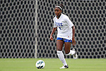 19 August 2012: Duke's Natasha Anasi. The Duke University Blue Devils defeated the Elon University Phoenix 8-0 at Koskinen Stadium in Durham, North Carolina in a 2012 NCAA Division I Women's Soccer game.
