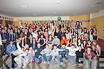 18th: Rebecca Nardone, Tralee (seated 4th from left) who travelled to Ballyheigue Whitye Sands to celebrat her 18th BIrthday in the White Sands Hotel Ballyheigue (Nordone) is seated  centre