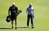 Aaron Rai (ENG) in action on the 10th during Round 3 of the ISPS Handa World Super 6 Perth at Lake Karrinyup Country Club on the Saturday 10th February 2018.<br /> Picture:  Thos Caffrey / www.golffile.ie<br /> <br /> All photo usage must carry mandatory copyright credit (&copy; Golffile | Thos Caffrey)