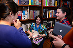 CORAL GABLES, FL - FEBRUARY 10: Author Rachel Caine signs copies of her new books 'Prince of Shadows: A Novel of Romeo and Juliet' at Books and Books on February 10, 2014 in Coral Gables, Florida. (Photo by Johnny Louis/jlnphotography.com)