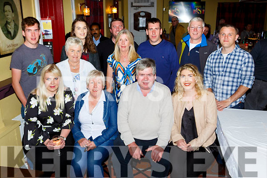 MAurice CAsey, Killarney celebrated his 60th birthday with family and friends in Jack duggans bar Castlemaine on Saturday night