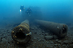 HMS Audacious, the first Briitish Battleship to be sunk in World War 1. Super-Dreadnought class. Lies at 65 metres depth