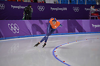 OLYMPIC GAMES: PYEONGCHANG: 14-02-2018, Gangneung Oval, Long Track, 10.000m Men, Sven Kramer (NED), ©photo Martin de Jong