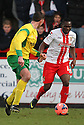 Francois Zoko of Stevenage<br />  - Stevenage v Stourbridge - FA Cup Round 2 - Lamex Stadium, Stevenage - 7th December, 2013<br />  © Kevin Coleman 2013