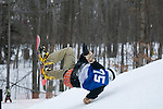 Big air competition at Cascade Mountain.
