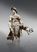 Roman statue of a Dancing Woman . Marble. Perge. 2nd century AD. Inv no 10.29.81 . Antalya Archaeology Museum; Turkey.