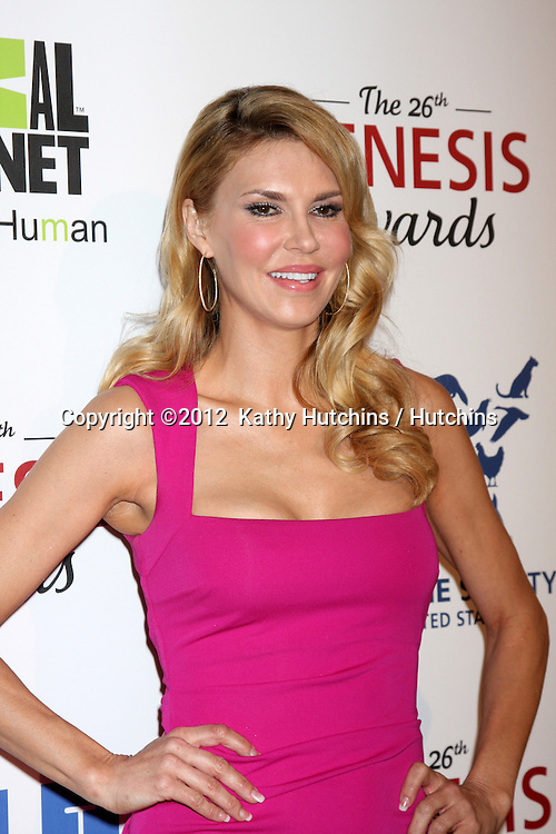 LOS ANGELES - MAR 24:  Brandi Glanville arrives at  the 2012 Genesis Awards at the Beverly Hilton Hotel on March 24, 2012 in Beverly Hills, CA