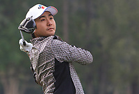 Soomin Lee (KOR) on the 14th tee during Round 1 of the UBS Hong Kong Open, at Hong Kong golf club, Fanling, Hong Kong. 23/11/2017<br /> Picture: Golffile | Thos Caffrey<br /> <br /> <br /> All photo usage must carry mandatory copyright credit     (&copy; Golffile | Thos Caffrey)