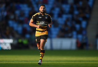 Lima Sopoaga of Wasps. Heineken Champions Cup match, between Wasps and Bath Rugby on October 20, 2018 at the Ricoh Arena in Coventry, England. Photo by: Patrick Khachfe / Onside Images
