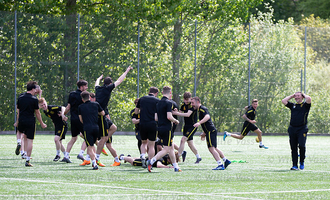 16.05.2018 Livingston FC training and presser: