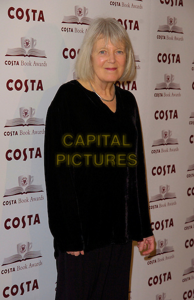 VICKI FEAVER.At The Costa Book Awards 2007, Intercontinental Hotel, London, England, January 22nd 2007..half length black top Vicky.CAP/CAN .©Can Nguyen/Capital Pictures