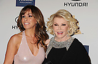 BEVERLY HILLS, CA - FEBRUARY 09: Melissa Rivers and Joan Rivers arrive at the The 55th Annual GRAMMY Awards - Pre-GRAMMY Gala And Salute To Industry Icons Honoring L.A. Reid at the Beverly Hilton Hotel on February 9, 2013 in Beverly Hills, California.PAP0213JP405.PAP0213JP405. Nortephoto