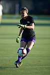 Mia Raben (16) of the Wake Forest Demon Deacons warms-up prior to the match against the Tennessee Volunteers at W. Dennie Spry Stadium on the campus of Wake Forest University on August 23, 2018 in Winston-Salem, North Carolina.  The Demon Deacons and the Volunteers played to a 1-1 draw.
