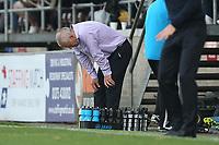 Frustration for Dagenham and Redbridge manager Peter Taylor during Dagenham & Redbridge vs Wrexham, Vanarama National League Football at the Chigwell Construction Stadium on 13th October 2018