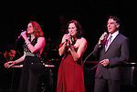 Christiane Noll, Linda Eder and Robert Cuccioli performing their show 'A New Life' ('Jekyll & Hyde' Reunion)   at The Town Hall on October 13, 2012 in New York City.