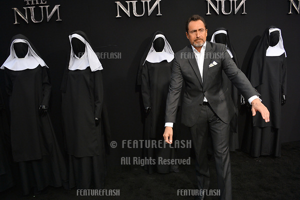 """LOS ANGELES, CA. September 04, 2018: Demian Bichir at the world premiere of """"The Nun"""" at the TCL Chinese Theatre, Hollywood."""