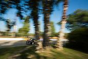 5th October 2017, Costa Daurada, Salou, Spain; FIA World Rally Championship, RallyRACC Catalunya, Spanish Rally; Stephane LEFEBVRE - Gabin MOEAU Citroen Total Abu Dhabi WRT sliding on the asphalt