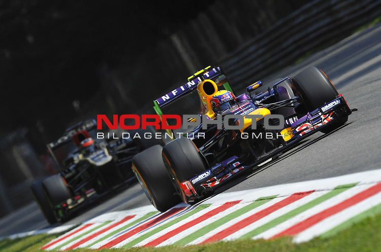 05.-08.09.2011, Autodromo Nationale, Monza, ITA, F1, Grosser Preis von Italien, Monza, im Bild  Mark Webber (AUS), Red Bull Racing <br />  Foto &copy; nph / Mathis
