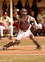 Boston College C Tony Sanchez at Shea Field March 28, 2009 in Chestnut Hill, MA (Photo by Ken Babbitt/Four Seam Images)