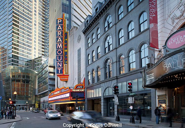 Paramount Theater, Washington St., Boston, MA Emerson College