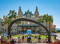 Fuerstentum Monaco, an der Côte d'Azur, Stadtteil Monte Carlo: Casino Monte-Carlo   Principality of Monaco, on the French Riviera (Côte d'Azur), district Monte Carlo: Casino Monte-Carlo