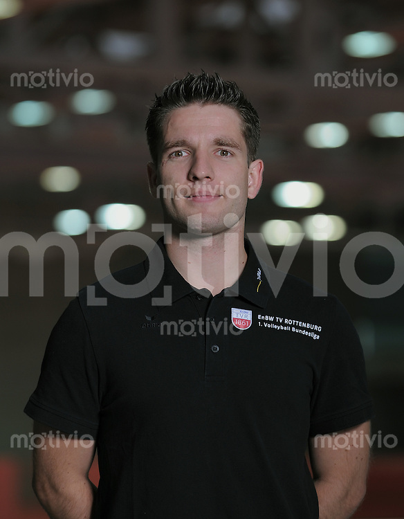 Volleyball 1. Bundesliga  Saison 2010/2011   24.08.2010 ENBW TV Rottenburg Scout