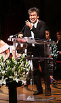 David Henry Hwang on stage at the The Lilly Awards  at Playwrights Horizons on May 22, 2017 in New York City.