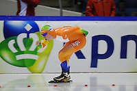 SCHAATSEN: HEERENVEEN: 18-10-2013, IJsstadion Thialf, Trainingswedstrijd, Antoinette de Jong, ©foto Martin de Jong