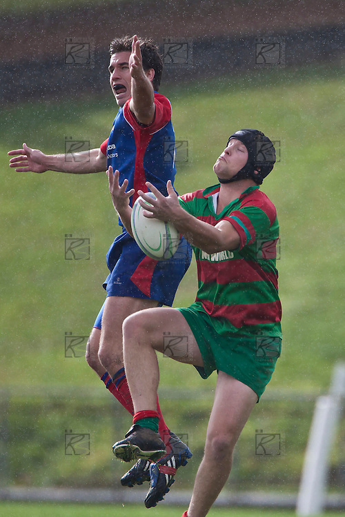 Counties Manukau Bob Chandler Memorial Premier Reserves Club Rugby final between Ardmore Marist and Waiuku, held at Bayer Growers Stadium, on Saturday July 17th. Ardmore Marist won 21 - 5.