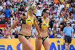 26.08.2017, Hamburg, Stadion Am Rothenbaum<br />Beachvolleyball, World Tour Finals<br /><br />Laura Ludwig (#1 GER), Kira Walkenhorst (#2 GER)<br /><br />  Foto © nordphoto / Kurth