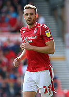 Nottingham Forest's Jack Robinson in action<br /> <br /> Photographer David Shipman/CameraSport<br /> <br /> The EFL Sky Bet Championship - Nottingham Forest v Preston North End - Saturday 31st August 2019 - The City Ground - Nottingham<br /> <br /> World Copyright © 2019 CameraSport. All rights reserved. 43 Linden Ave. Countesthorpe. Leicester. England. LE8 5PG - Tel: +44 (0) 116 277 4147 - admin@camerasport.com - www.camerasport.com