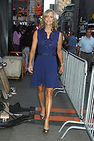 NEW YORK, NY - August 20, 2012: Lara Spencer host of Good Morning America back seen in New York City. August 20, 2012. &copy; RW/MediaPunch Inc. /NortePhoto.com<br />