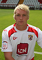 Mark Roberts of Stevenage  at the Stevenage FC team photo shoot at The Lamex Stadium, Broadhall Way, Stevenage on Saturday, 24th July, 2010.© Kevin Coleman 2010