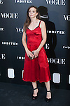 Leonor Watling attends III Vogue Who´s on next Awards at Italy Emabssy in Madrid, Spain. Photographer Mario Testino awarded as World´s Best Photographer. June 17, 2014. (ALTERPHOTOS/Victor Blanco)