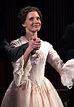 Jessica Chastain during the Broadway Opening Night Performance Curtain Call for 'The Heiress' at The Walter Kerr Theatre on 11/01/2012 in New York.