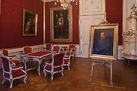 Europe/Autriche/Niederösterreich/Vienne: Palais des Hofburg, résidence de la famille impériale des Habsbourg – Les appartements impériaux (Kaiserappartments) La Chambre d'audience