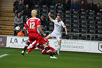 Pictured: Mark Gower of Swansea City in action<br /> Re: Coca Cola Championship, Swansea City FC v Charlton Athletic at the Liberty Stadium, Swansea, south Wales. 28 February 2009<br /> Picture by D Legakis Photography / Athena Picture Agency, Swansea 07815441513