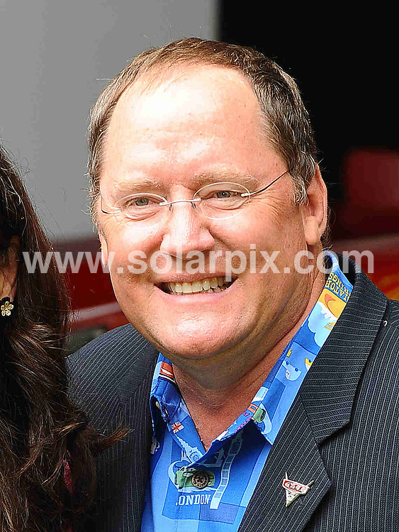 **ALL ROUND PICTURES FROM SOLARPIX.COM**                                             **WORLDWIDE SYNDICATION RIGHTS**                                                                                  Caption: Pre-party celebrating the UK Premiere of CARS 2 at Whitehall Gardens on July 17, 2011 in London                                                                              This pic: Director John Lasseter                                                                                    JOB REF: 13734 TLP       DATE: 17_07_2011                                                           **MUST CREDIT SOLARPIX.COM OR DOUBLE FEE WILL BE CHARGED**                                                                      **MUST AGREE FEE BEFORE ONLINE USAGE**                               **CALL US ON: +34 952 811 768 or LOW RATE FROM UK 0844 617 7637**